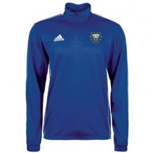 Woodvale Cricket Club Adidas Core 18 Training Top Blue/White Adults 2020